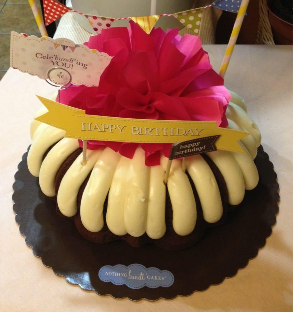 Yummy Birthday Chocolate Bundt Cake Celebundting You Yelp