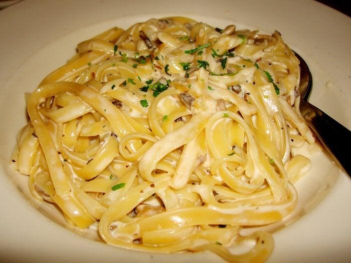California Pizza Kitchen Garlic Cream Fettuccine fettuccine with garlic cream sauce - yelp