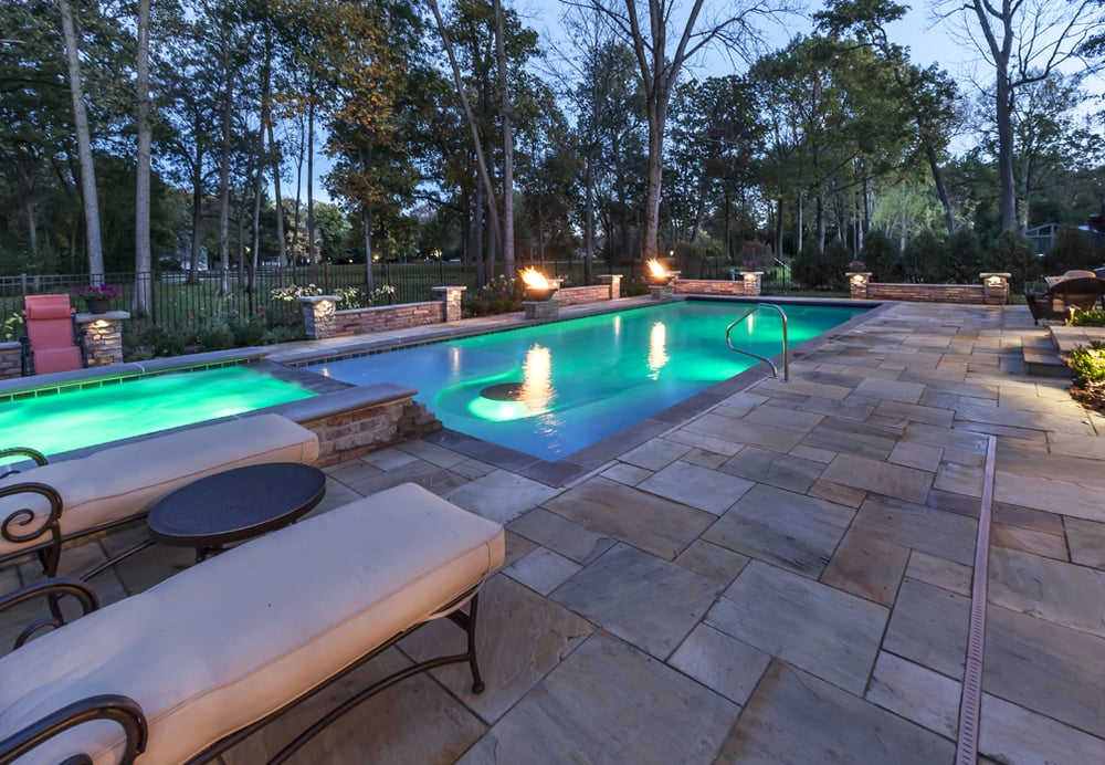 Sunset pools spas 52 photos pool hot tub services for Table 52 schaumburg