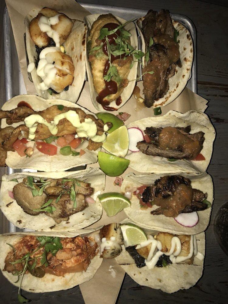Food from Vida Taco Bar