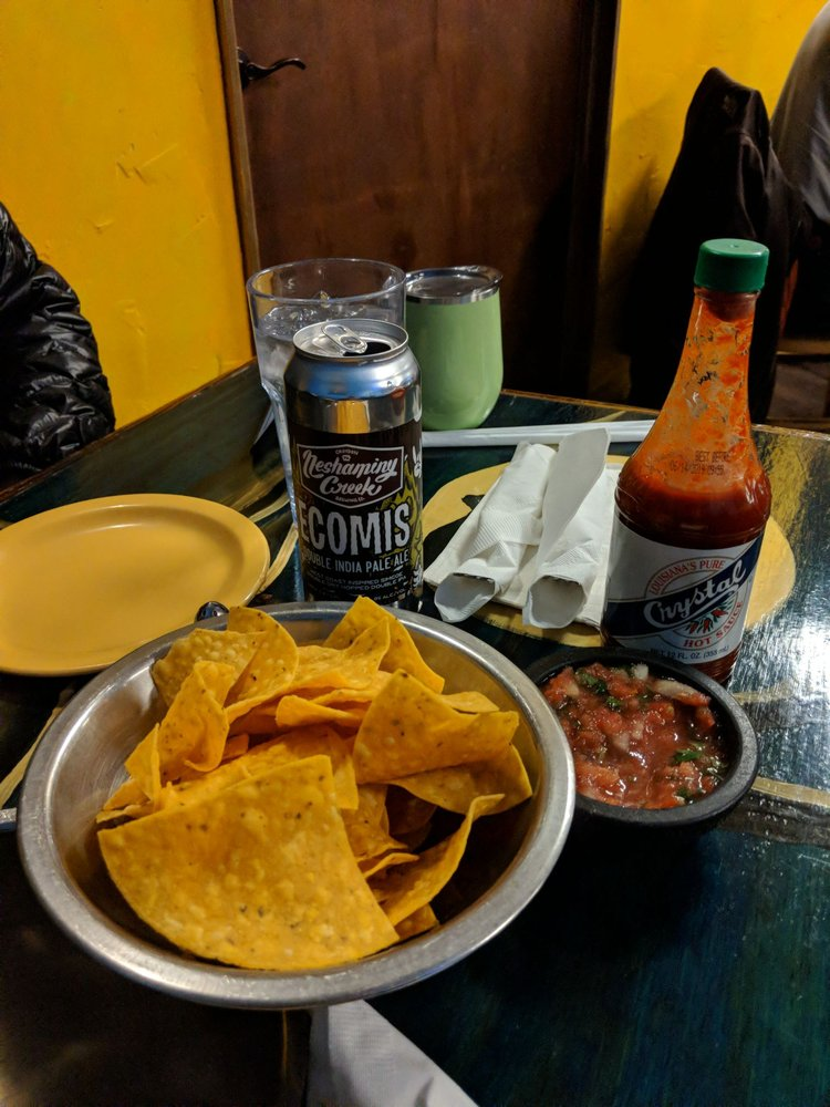 Food from Buho's Mexican Restaurant