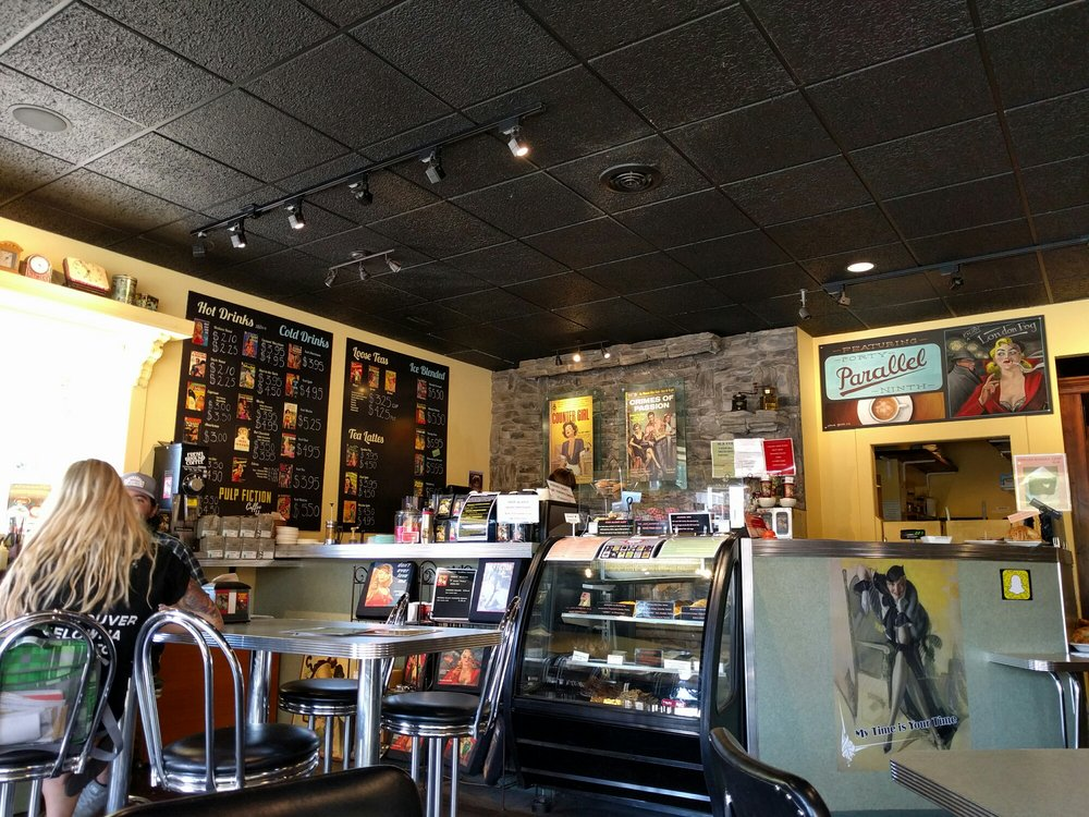 Photo of Pulp Fiction Coffee House - Kelowna, BC, Canada. Order at the counter!
