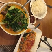This Place Has The Best Kare Kare Ever. The Meat Just Falls Off The Bone