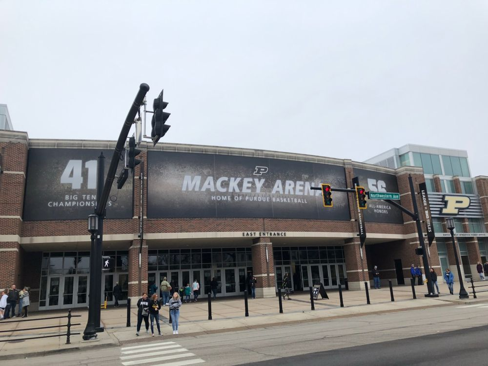 Mackey Arena: 900 John R Wooden Dr, West Lafayette, IN