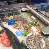 Photo of Hapuku Fish Shop - Oakland, CA, United States. Octopus from Spain