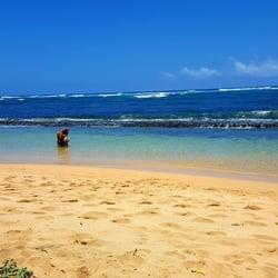 Photo Of Fuji Beach Aka Baby Kapaa Hi United States Perfect