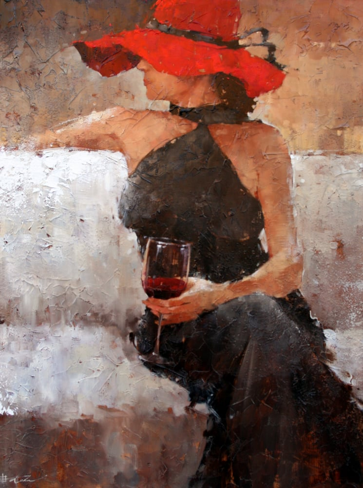 Andre kohn at mary martin gallery yelp for Painting and wine