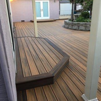 The deck pros 10 photos 10 reviews decks railing for Evergrain decking reviews