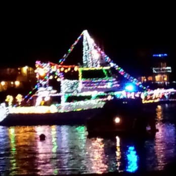 photo of naples christmas boat parade long beach ca united states