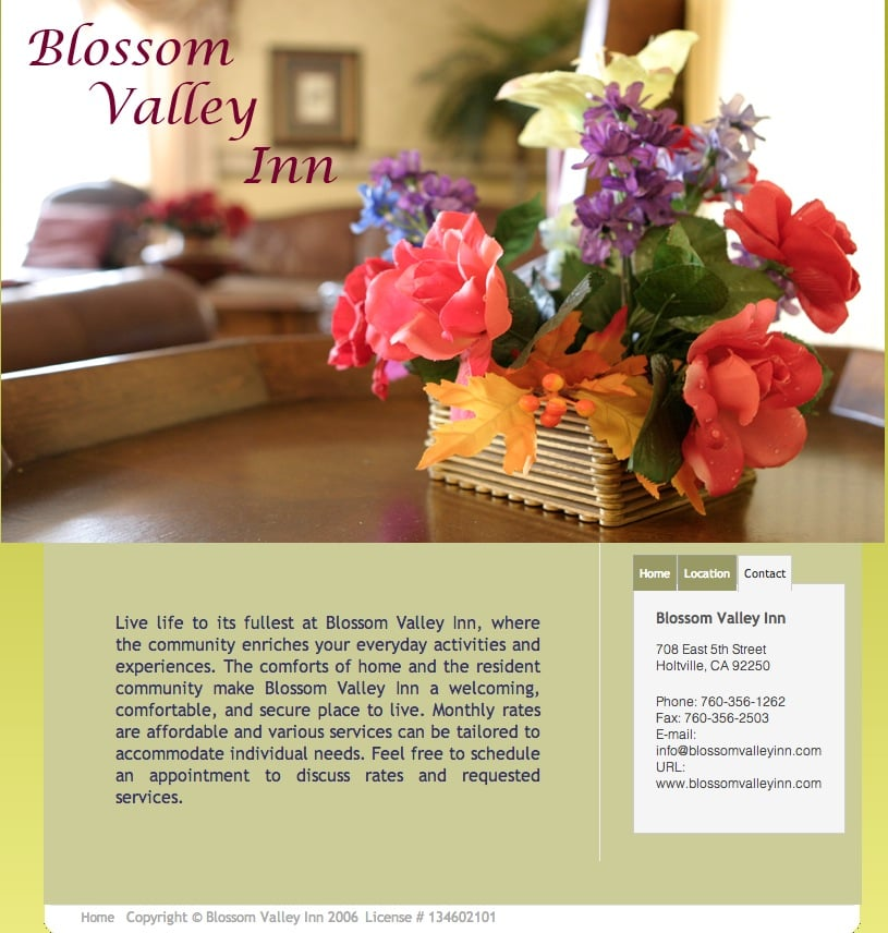 Blossom Valley Inn: 708 East 5th St, Holtville, CA