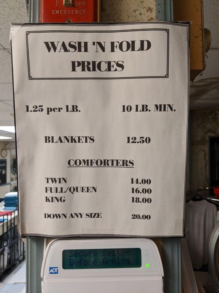 Crane River Laundromat: 34 Water St, Danvers, MA