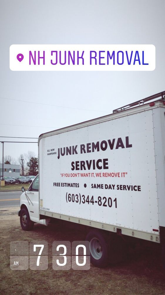 NH Junk Removal: 153 Manchester St, Concord, NH