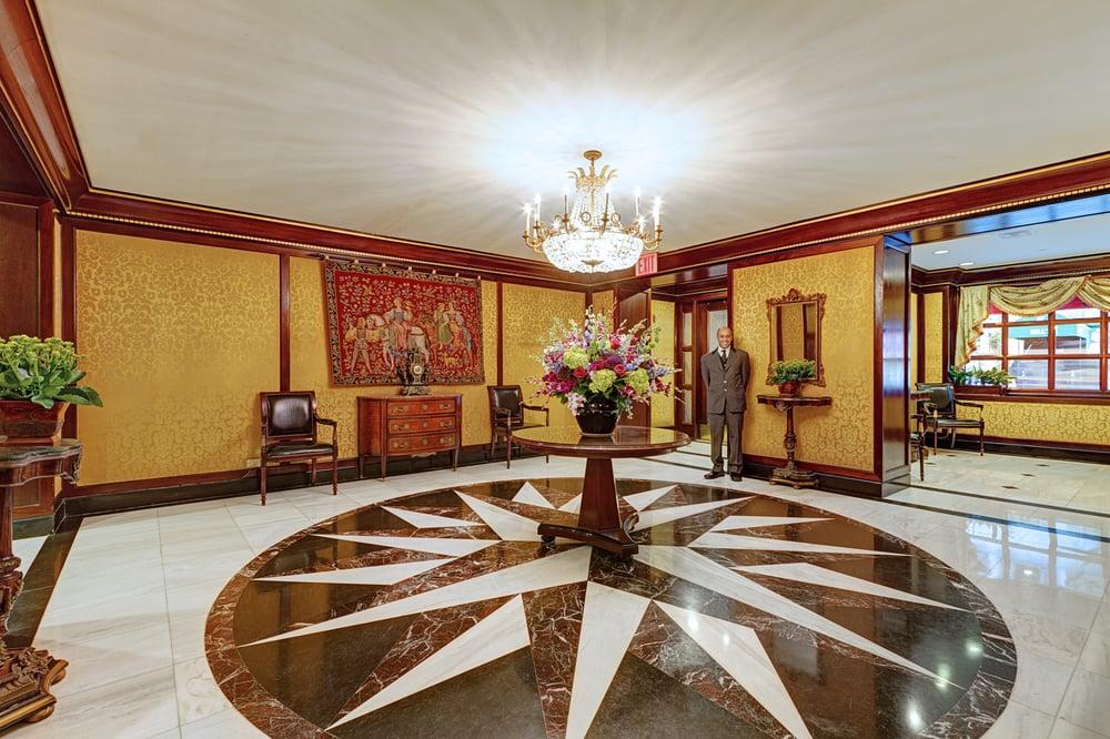 Hotel Elysée - New York, NY, United States. The Lobby at the Hotel Elysee