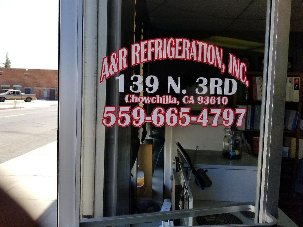 A & R Refrigeration, Inc: 139 N 3rd St, Chowchilla, CA