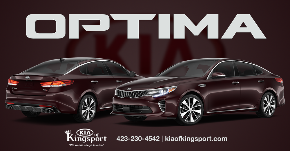 2016 redesigned kia optima at kia of kingsport yelp for Rick hill mercedes benz kingsport tennessee
