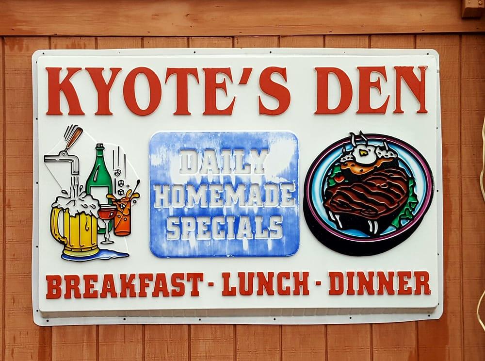 Kyote's Den: 82339 Highway 29, Menomonie, WI