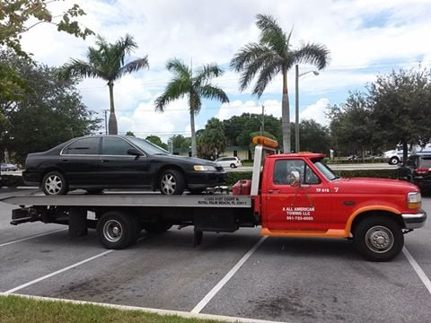 Beach Towing West Hook Up Palm