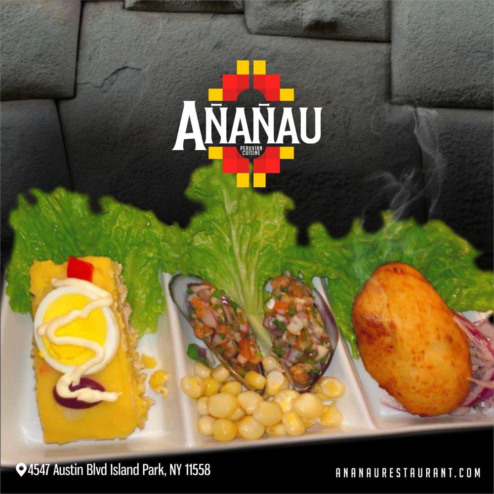 Ananau Peruvian Cuisine: 4547 Austin Blvd, Island Park, NY