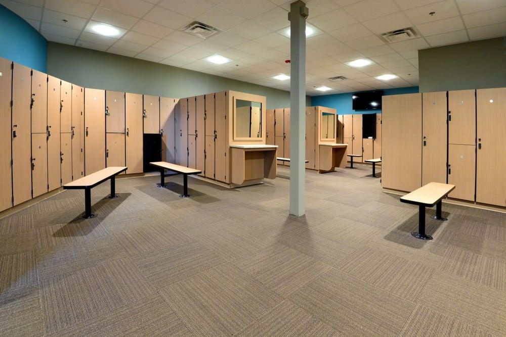Execurtive style locker room yelp