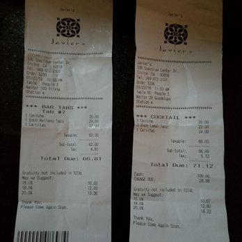 Photo Of Javier S Irvine Ca United States They Were Overcharging