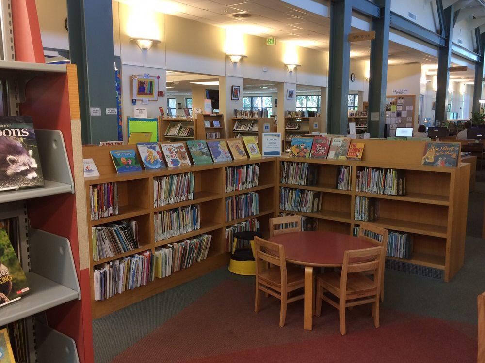 Clayton Library: 6125 Clayton Rd, Clayton, CA