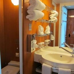 Clean Bathroom Aboard Ncl Pearl Yelp
