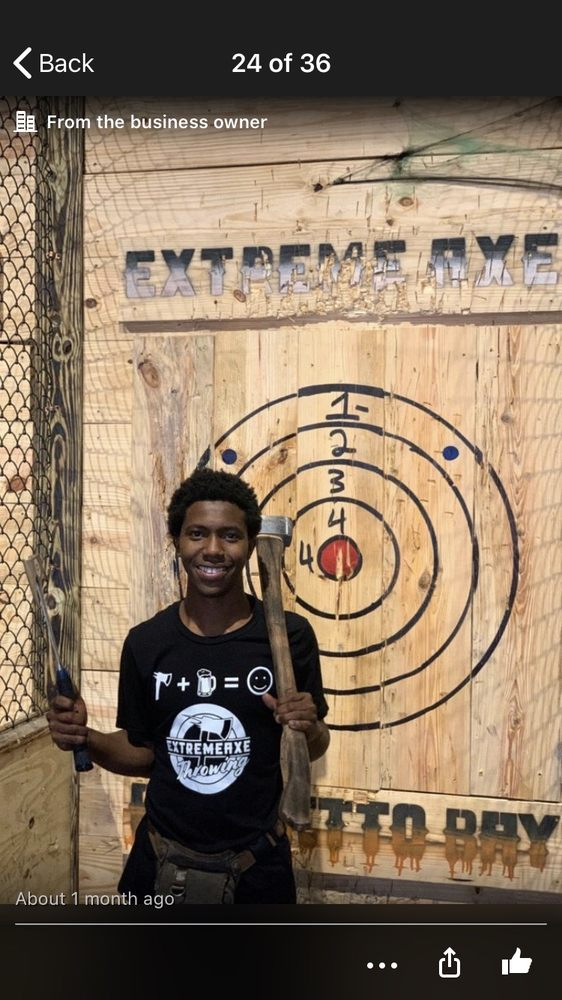 Extreme Axe Throwing - Palmetto Bay