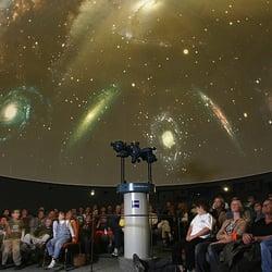 Bildergebnis für Planetarium von innen