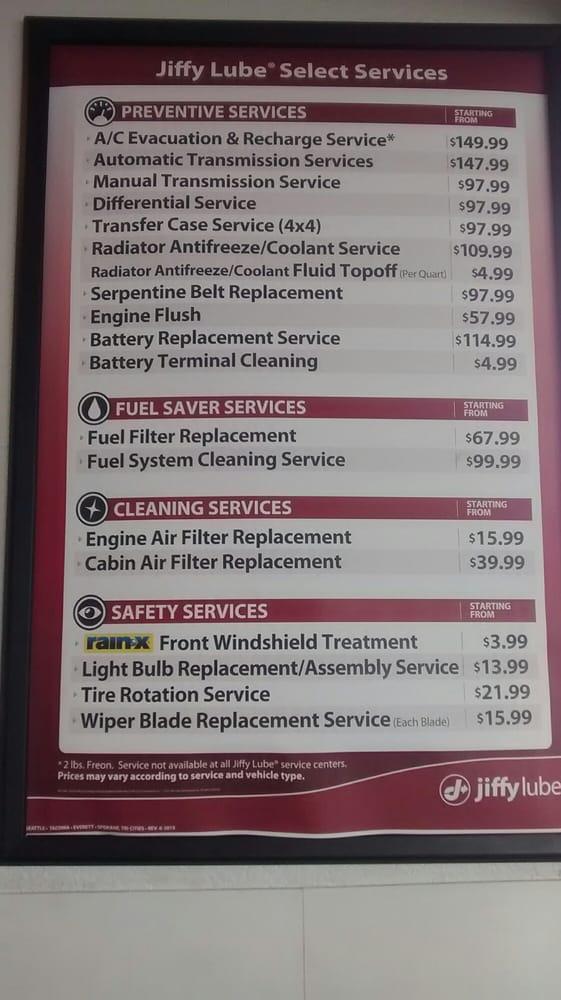 Jiffy Lube Transmission Fluid Change Cost | Upcoming New Car