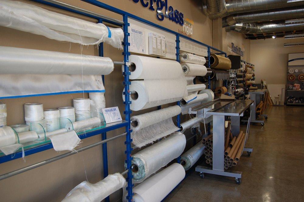 Fiberglass cloth section  - Yelp