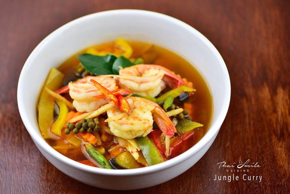 Food from Thai Smile Cuisine