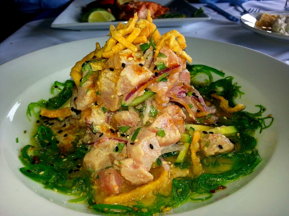 Tuna nikkei side view yelp for Garcia s seafood grille fish market miami fl
