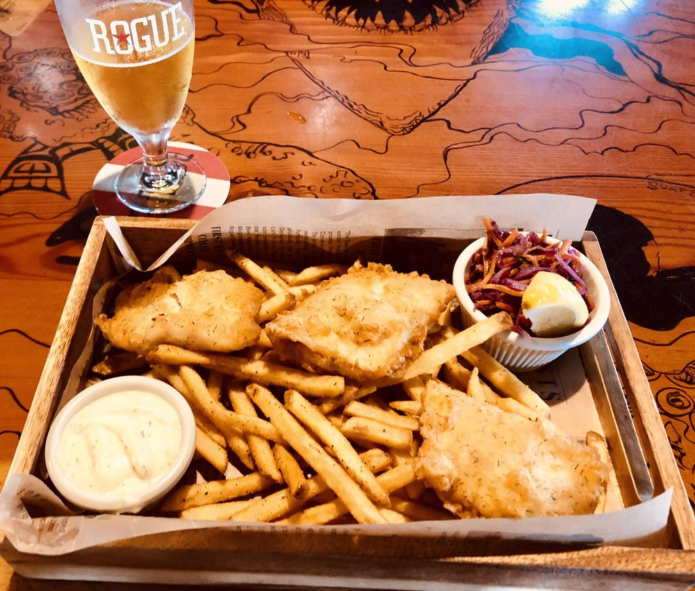 Rogue Ales Public House: 100 39th St, Astoria, OR