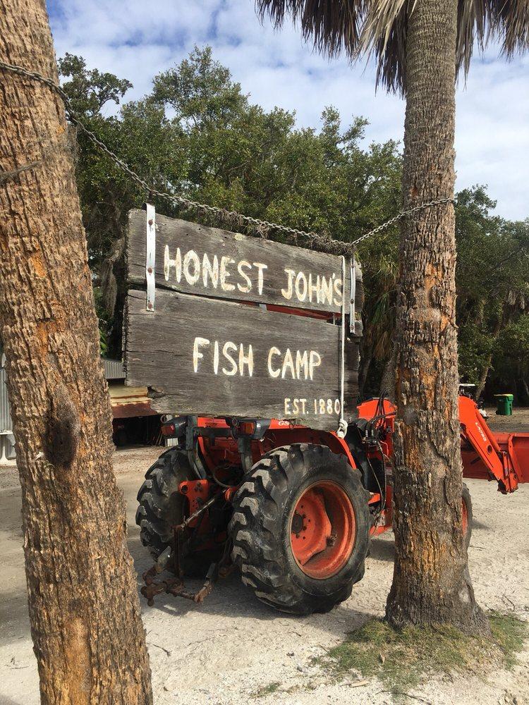 Honest John's Fish Camp: 750 Old Florida Trl, Melbourne Beach, FL