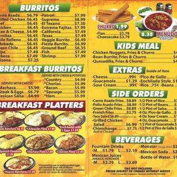 Mexican Breakfast Restaurant Phoenix Az