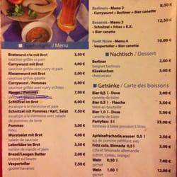 Menu Restaurant Lyon  Euros