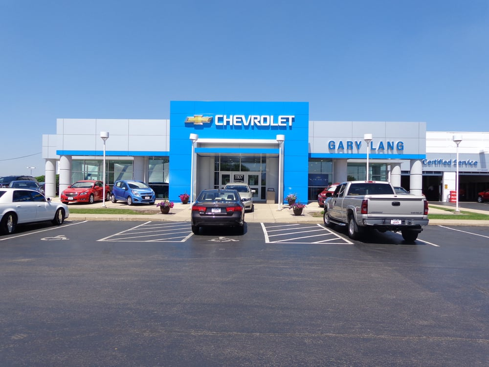 Gary Lang Chevy >> Gary Lang Chevrolet In Mchenry Yelp