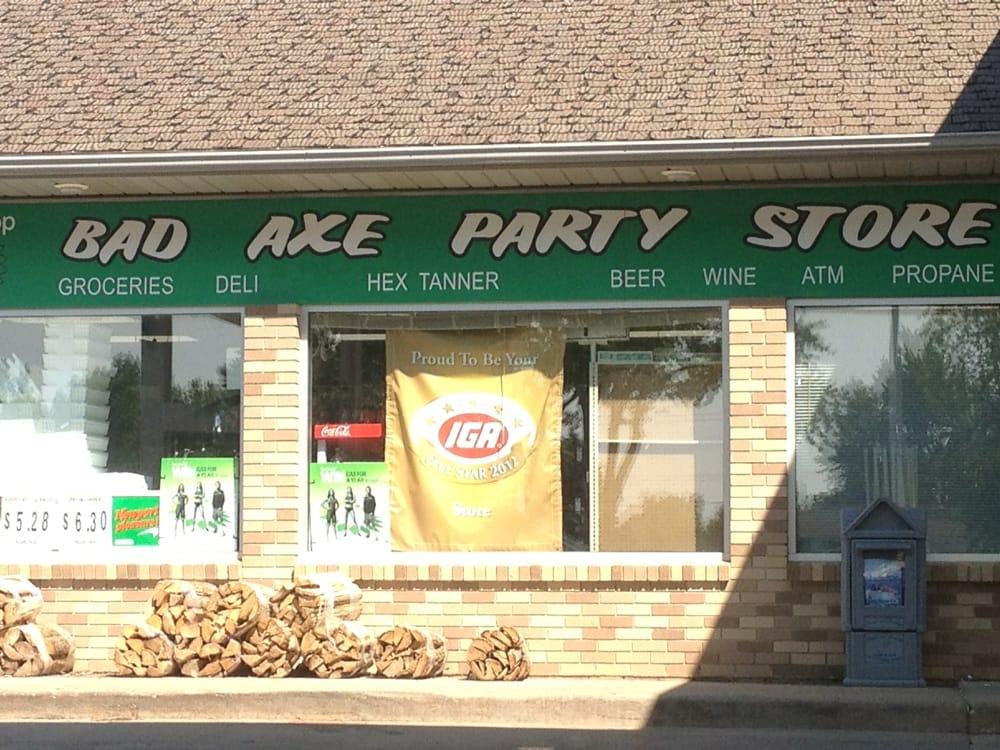 Kohler N-R-G Party Store: 690 S Van Dyke Rd, Bad Axe, MI