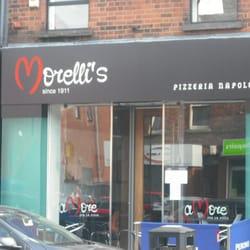 Morellis Pizeria Napoletana Pizza 340 Lisburn Road