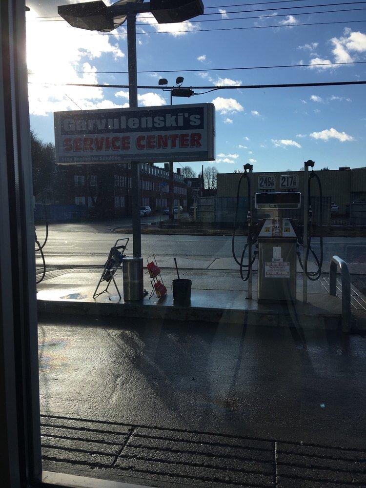 Garvulinski Service Station: 32 N Canal St, Holyoke, MA