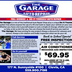 The garage oil change stations 177 n sunnyside ave clovis ca photo of the garage clovis ca united states solutioingenieria Images