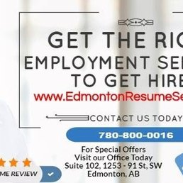 Edmonton Resume Services - Employment Agencies - 9038 51 Avenue NW ...