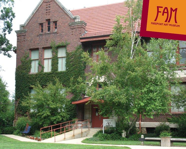 Freeport Arts Center: 121 N Harlem Ave, Freeport, IL