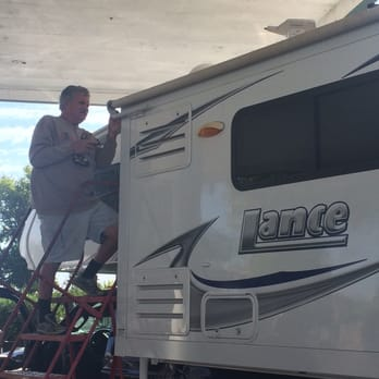 Photo Of Meeks Rv Center Acampo Ca United States Mike Fixing Our