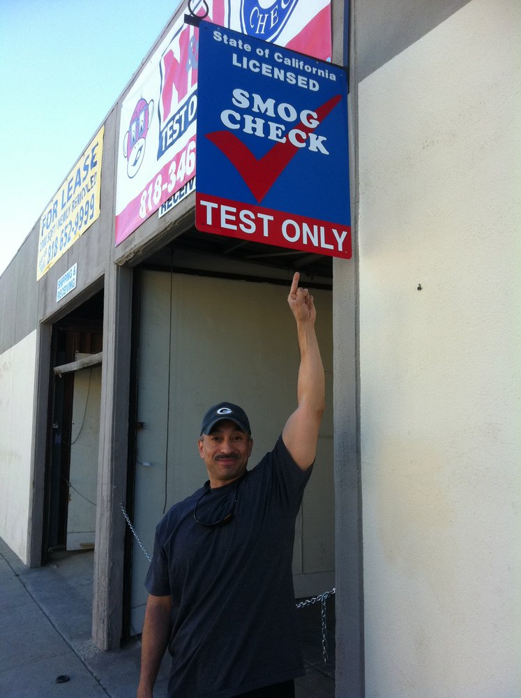 N & N Test ly CLOSED Smog Check Stations 8012