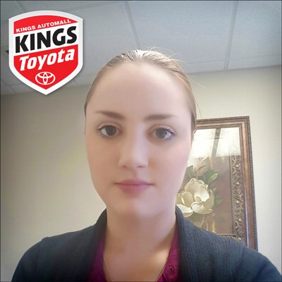 Comment From Courtney B Of Kings Toyota Business Customer Service