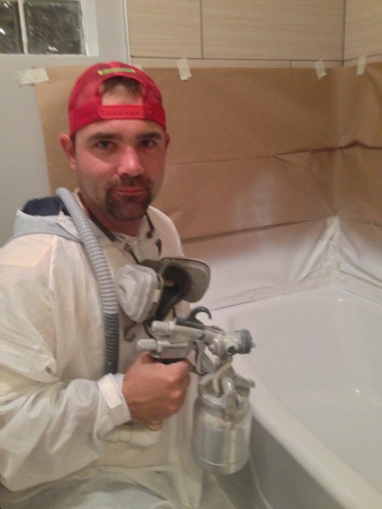 Cute Bath Tub Reglazing Tiny Cost To Refinish Bathtub Flat Reglazing Tubs Cost To Reglaze A Tub Young Bathroom Glazing OrangePorcelain Paint For Bathtubs Spray That Tub   Bathtub Refinishing   33 Photos \u0026 18 Reviews ..