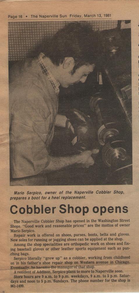 Naperville Shoe Repair Ogden