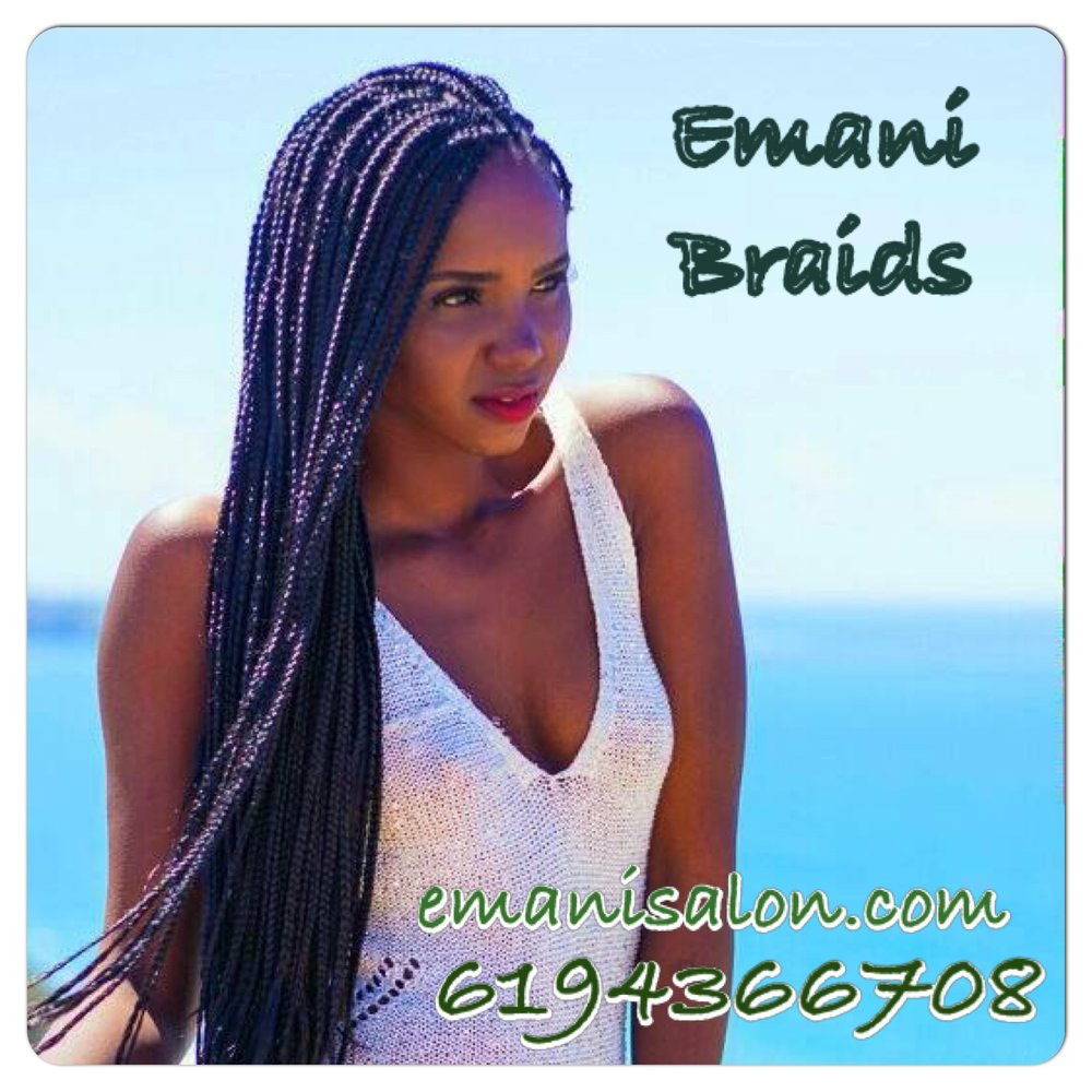 Awesome Emani Braids 58 Photos Hair Extensions 3205 41St St City Hairstyles For Women Draintrainus