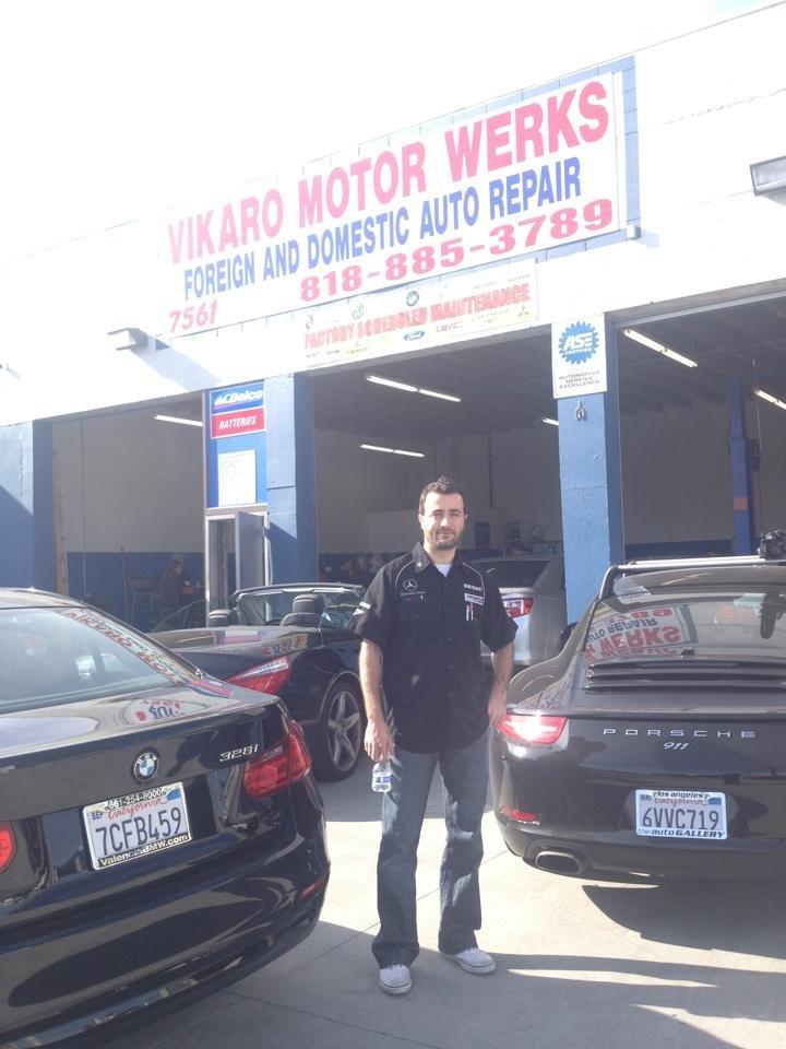 Vikaro motor werks 19 reviews auto repair 7561 for Electric motor repair los angeles